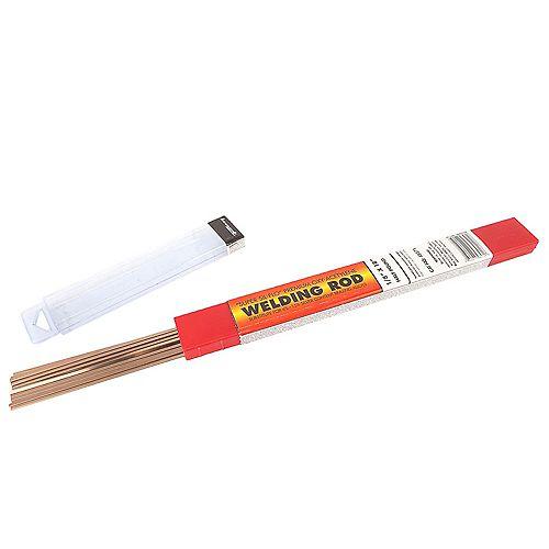 Brazing, Sil Phos, 1/8 inch x 18 inch, 1/2 lb