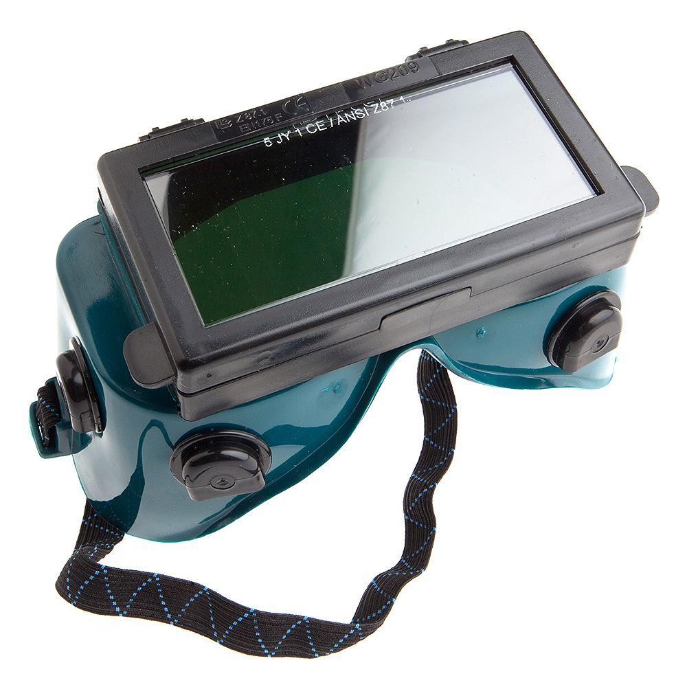 Forney Industries Welding Goggles, 2 inch x 4-1/4 inch, Lift Front, Shade #5