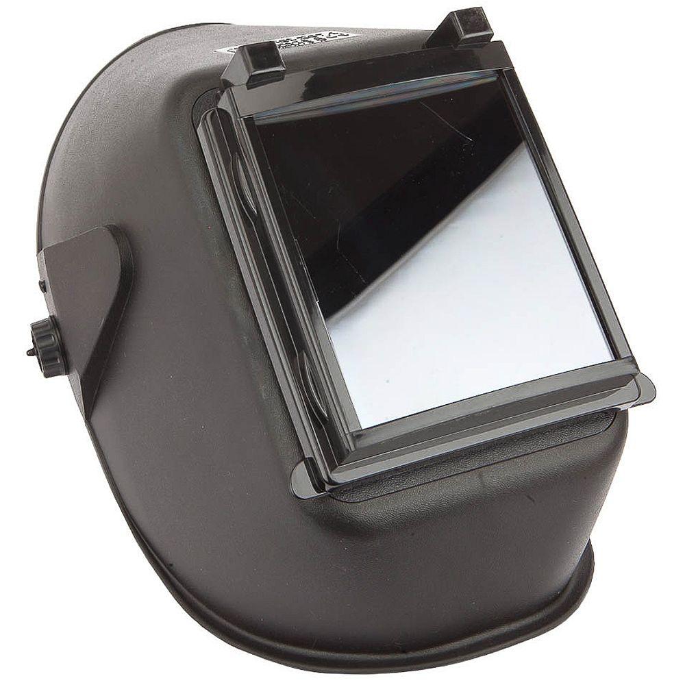 Forney Industries Bandit III Welding Helmet, 4-1/2 inch x 5-1/4 inch, Lift Front, #10