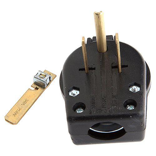 Pin-Type Electrical Plug, 230-Volt, 50 AMP (32531)