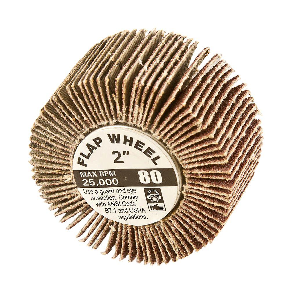 Forney Industries Flap Wheel, Shank Mntd, 2 inch x 1 inch