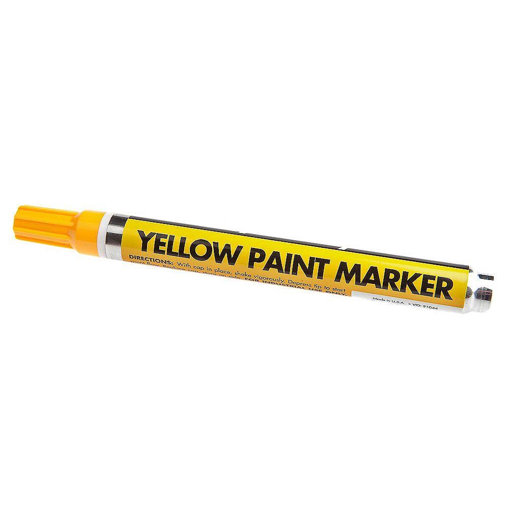 Forney Industries 60315 Marqueur de peinture jaune, cardé
