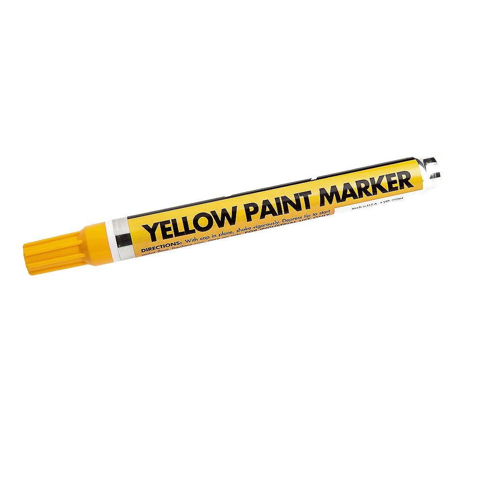Forney Industries Yellow Paint Marker