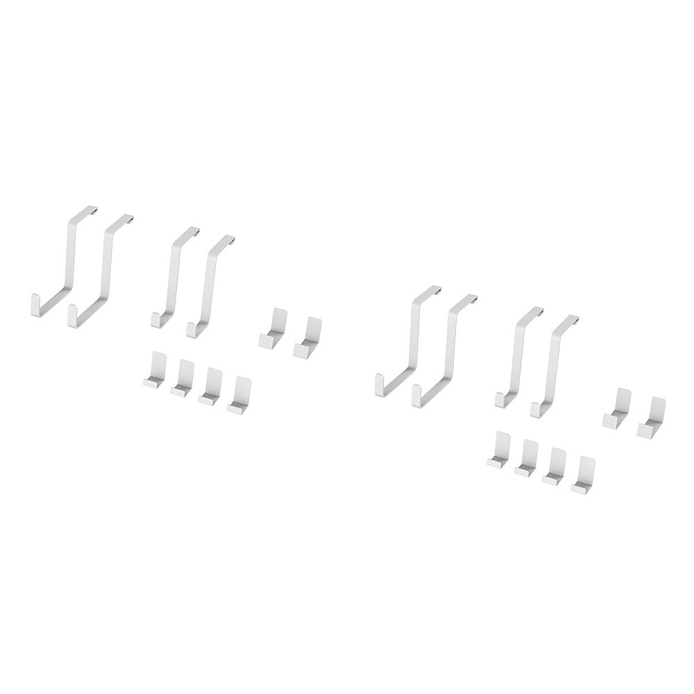 NewAge Products Inc. Ensemble d'accessoires 20 pièces VersaRac (2x crochets en S, 2x crochets en J)