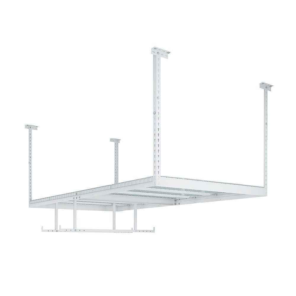 NewAge Products Inc. VersaRac Set with 1 Overhead Rack and 2-Piece Accessory Kit (VersaRac, Hanging Bars)