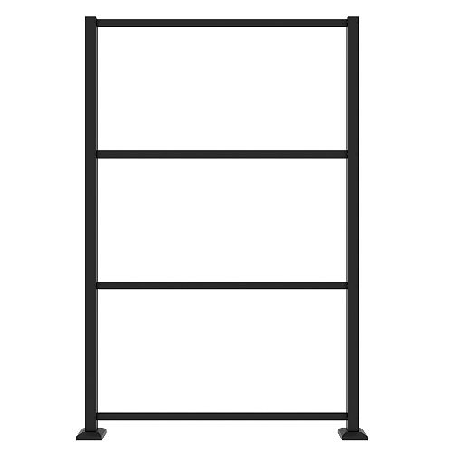 Dec Screen Panel Frame Kit in Matte Black
