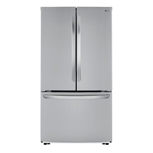 36-inch W 23 cu. ft. French Door Refrigerator in Stainless Steel, Counter-Depth - ENERGY STAR®