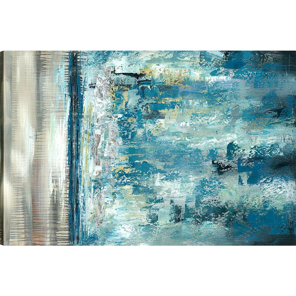 Art Maison Canada Abstrac Landscape, Abstract Art, Canvas Print Wall Art Décor 30X48 Ready to hang