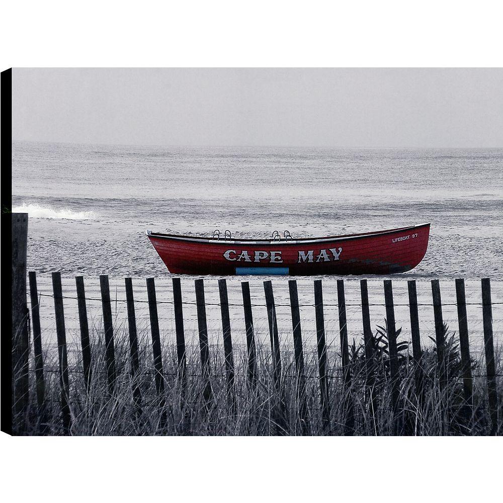 Art Maison Canada Rouler le bateau j'ai, Art du paysage, toile impression Art Décor de mur 30 X 40 prêts à accrocher