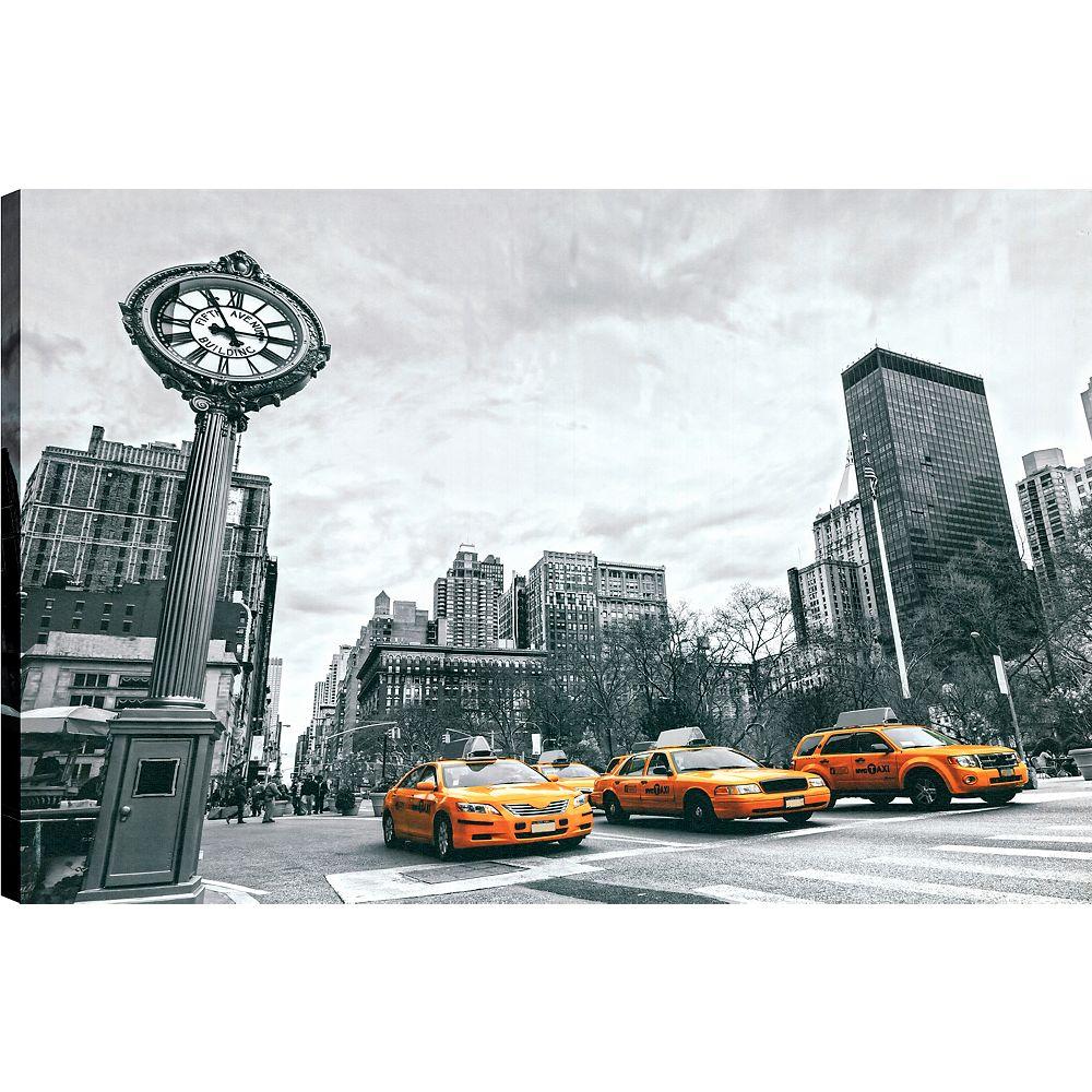 Art Maison Canada Cabby, Art du paysage, toile impression murale Art Décor 24 X 36, prêt à accrocher