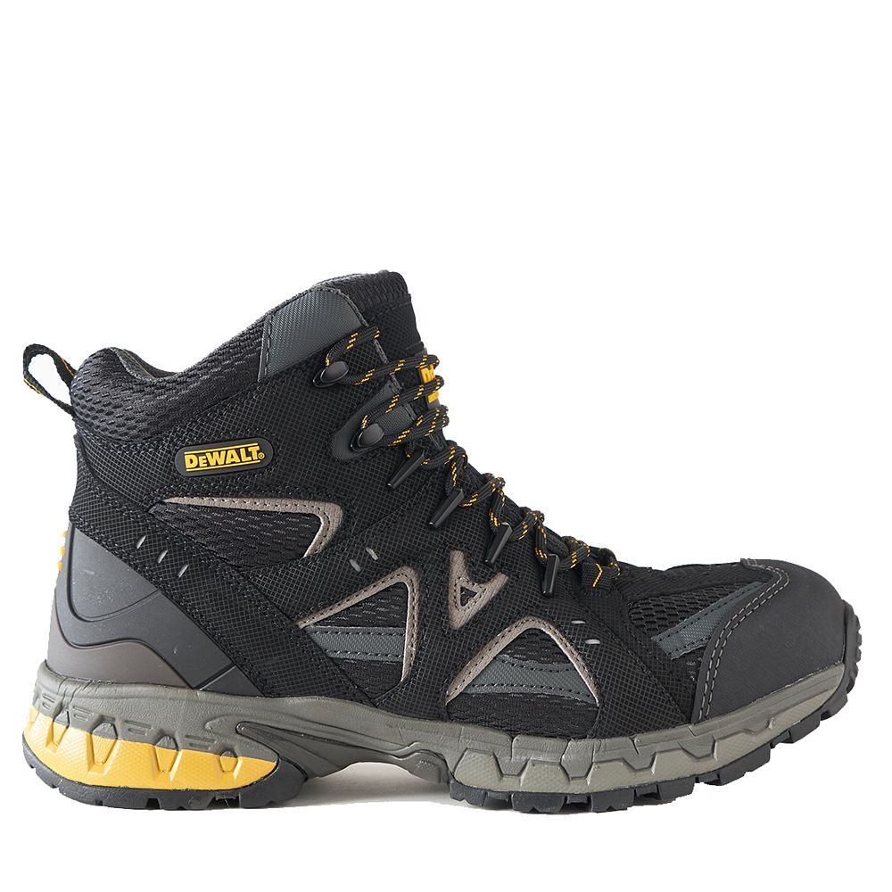 DEWALT Industrial Footwear Torque Mid *CSA approved* Men's (size 9.5) Steel Toe/Steel Plate Lightweight Athletic Work Boot