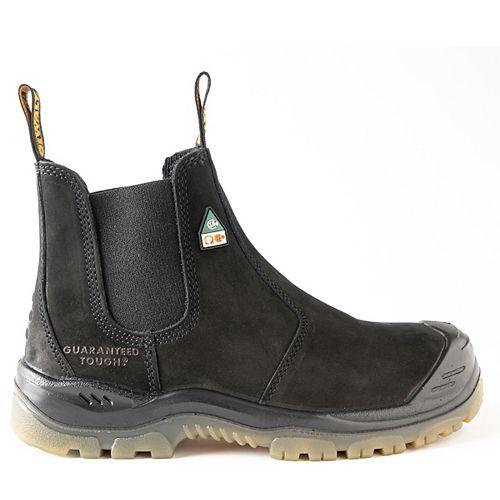 DEWALT Industrial Footwear Nitrogen *CSA approved* Men's (size 8.5) 6 inch. Steel Toe/Composite Plate, Side Gore/Slip-On Work Boot