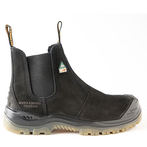 Nitrogen *CSA approved* Men's (size 12) 6 inch. Steel Toe/Composite Plate, Side Gore/Slip-On Work Boot