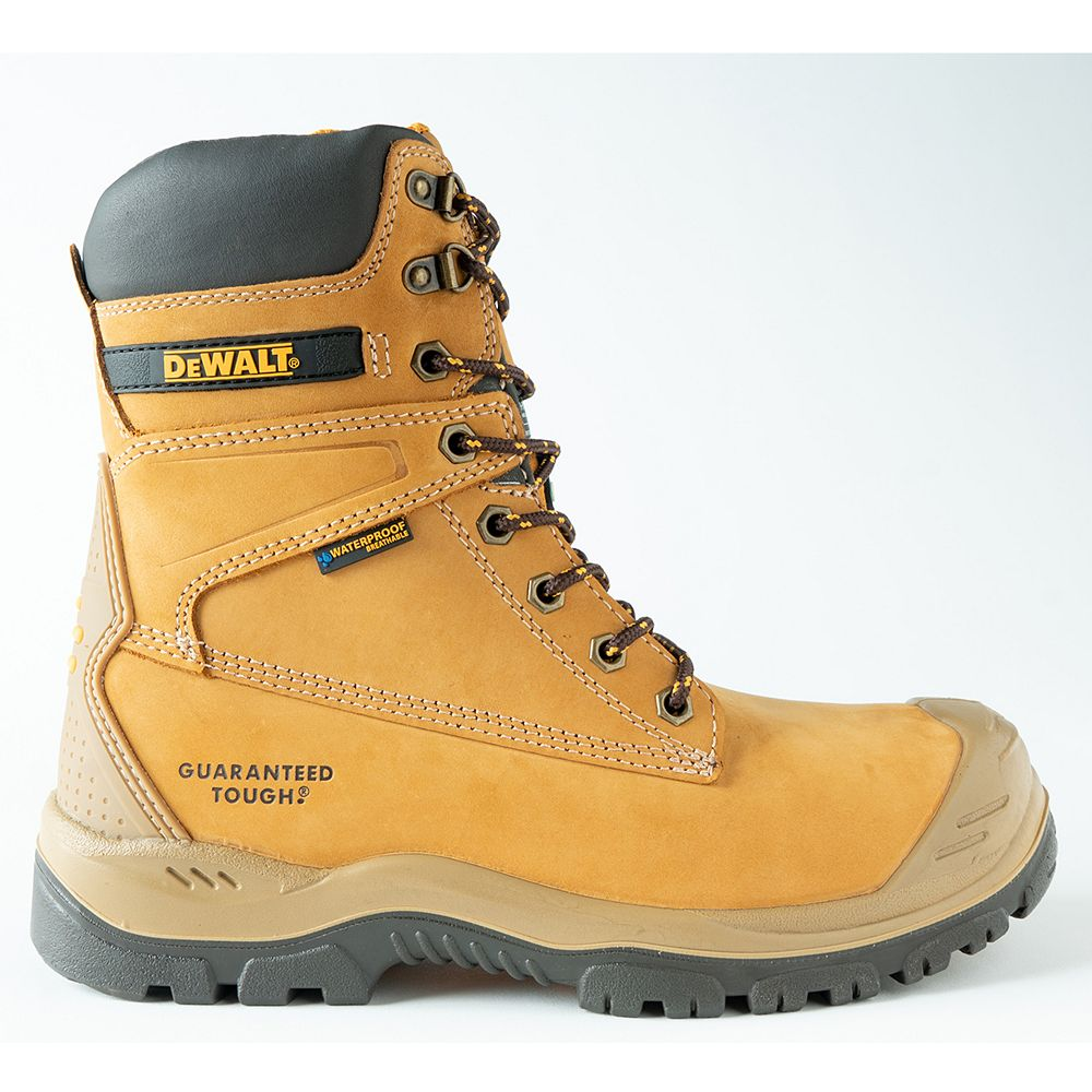 DEWALT Industrial Footwear Spark *CSA approved* Men's (size 10) 8 inch. Steel Toe/Composite Plate/Waterproof/Thinsulate Work Boot