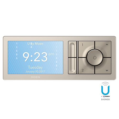U By  2-Outlet Digital Shower Controller In Terra Beige (Valve Sold Separately)