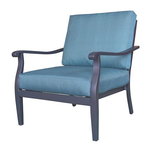 Riley Patio Club Chair with Cushions (2-Pack)