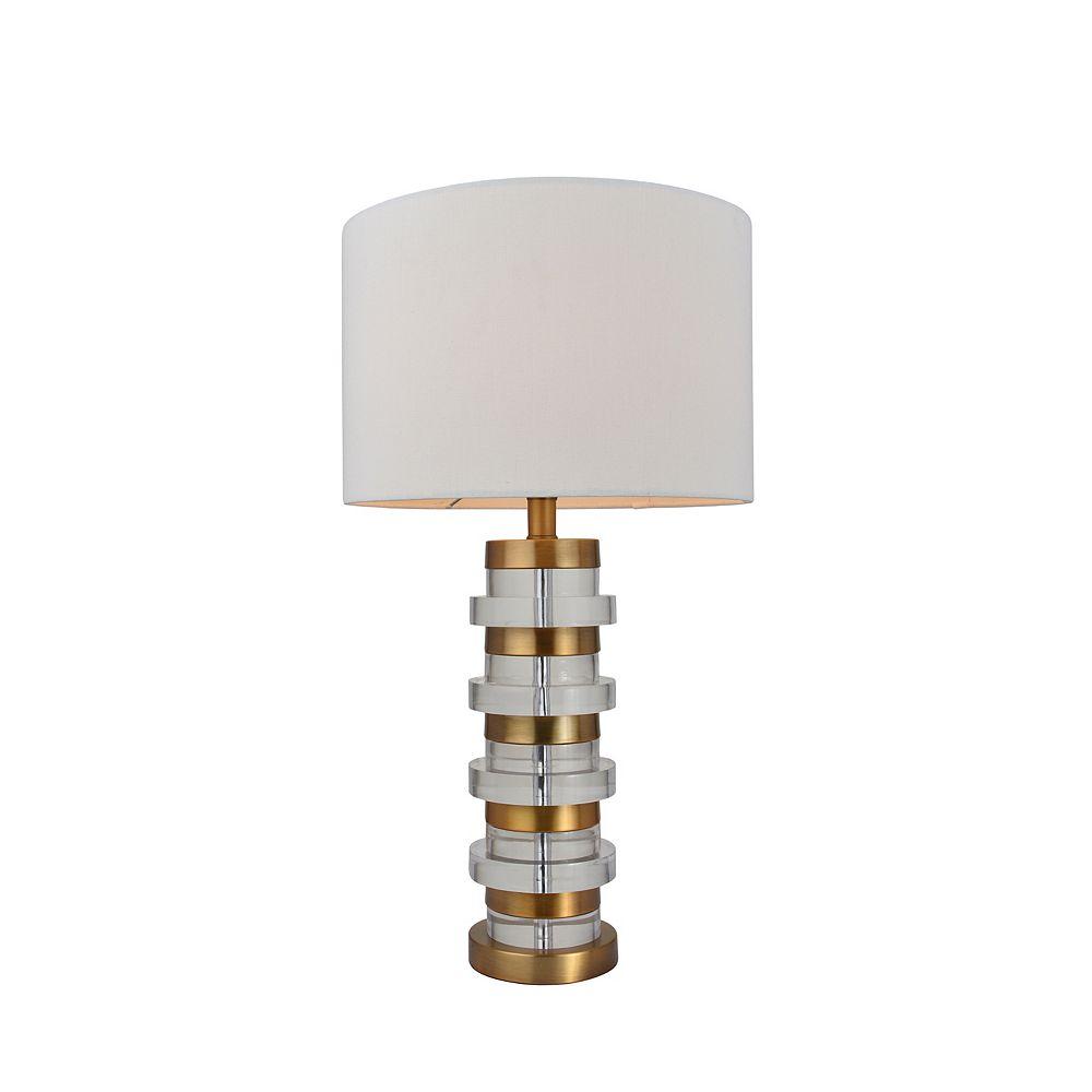 L2 Lighting 24,5'' Lampe de table - Or