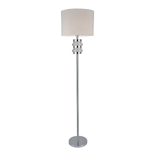 L2 Lighting 66 inch Floor lamp - Chrome
