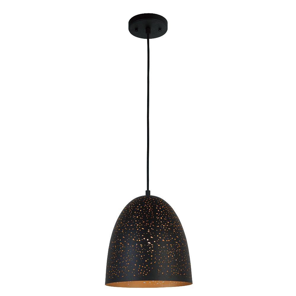 L2 Lighting 11,75''Dia Lampe suspendue en métal - bronze industriel