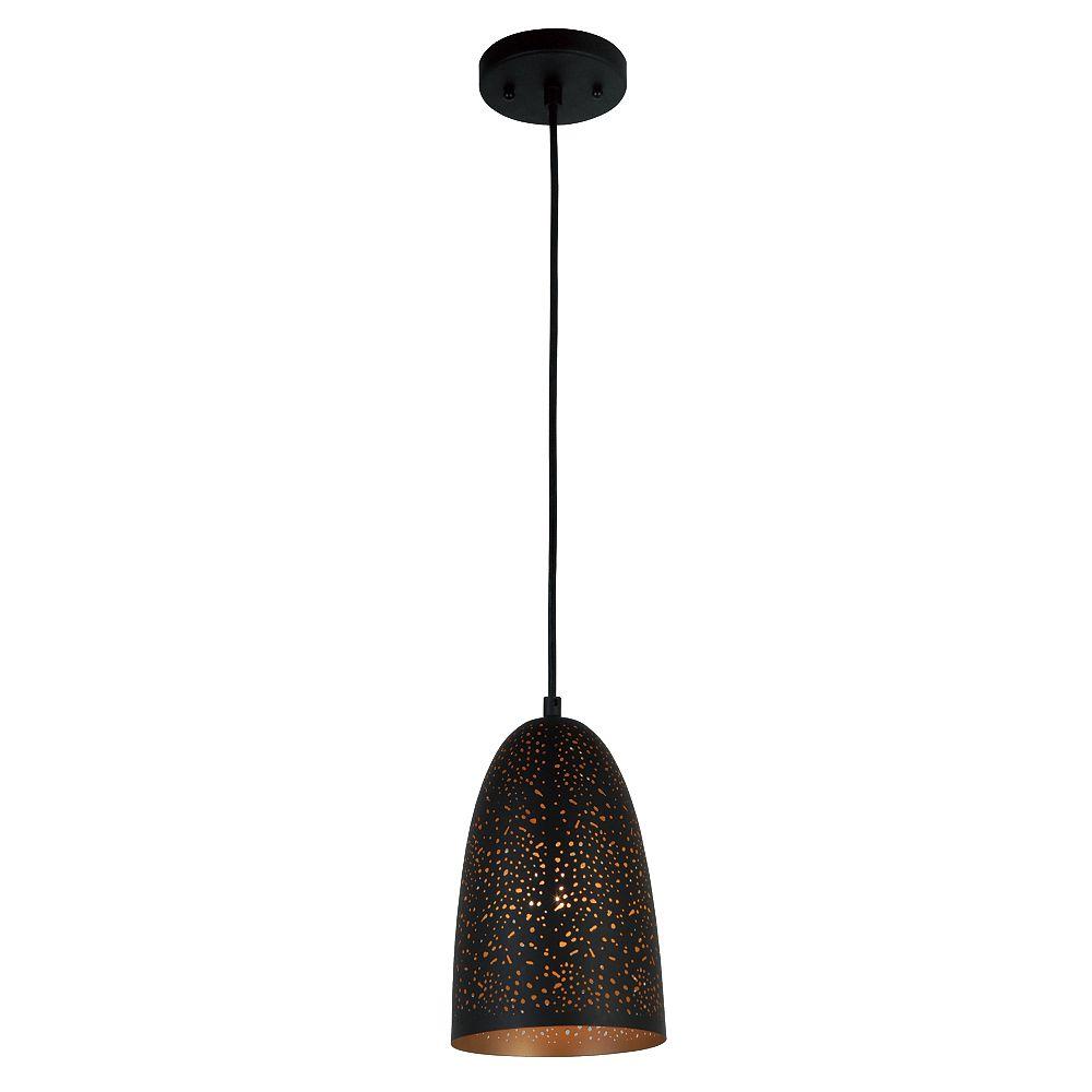 L2 Lighting 6,25''Dia Lampe suspendue en métal - bronze industriel
