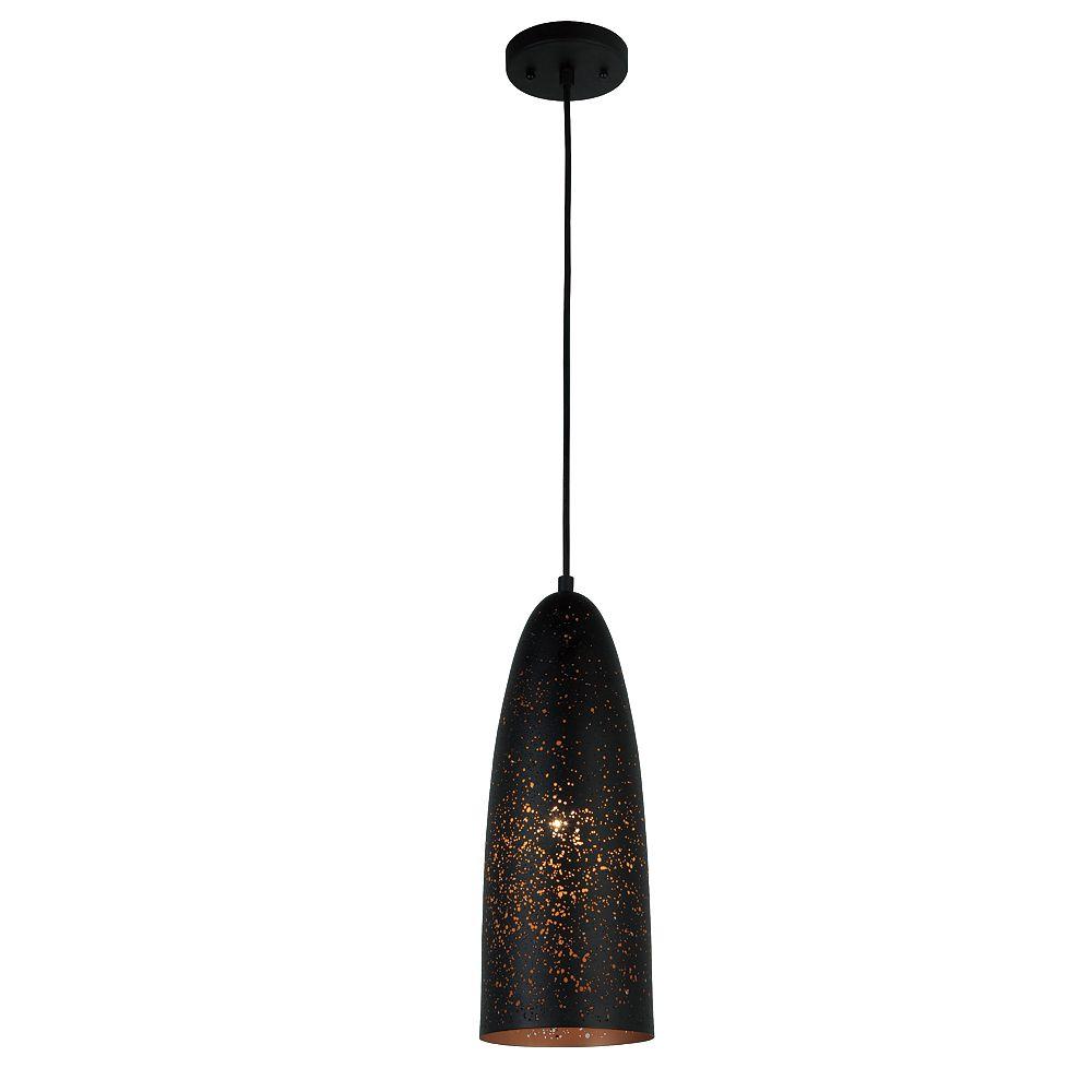 L2 Lighting 5.5''Dia Lampe suspendue en métal - bronze industriel