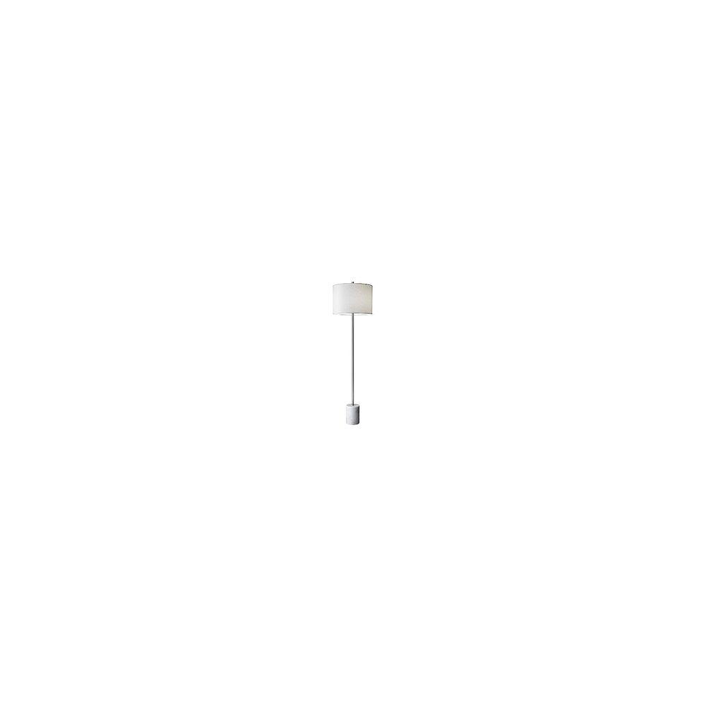 L2 Lighting 62'' Lampe de plancher - marbre blanc