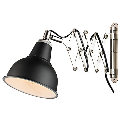 Lampe murale - Noir Mat