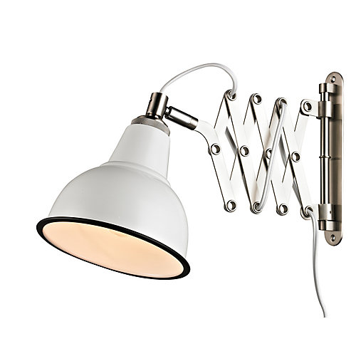 Lampe murale - Blanc Mat