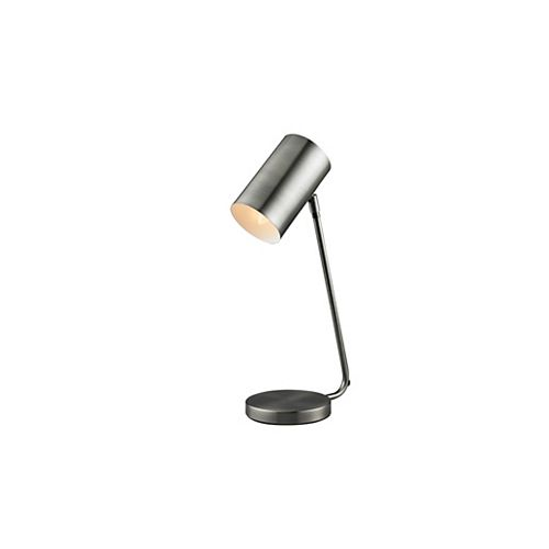 Superior Metal Task Lamp with Pivoting Head