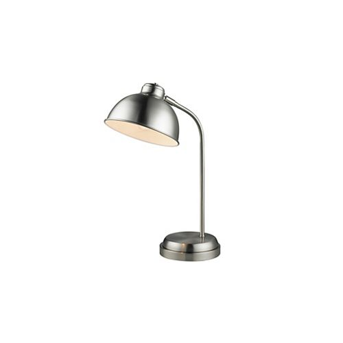 Superior Metal Task lamp with rounded shade