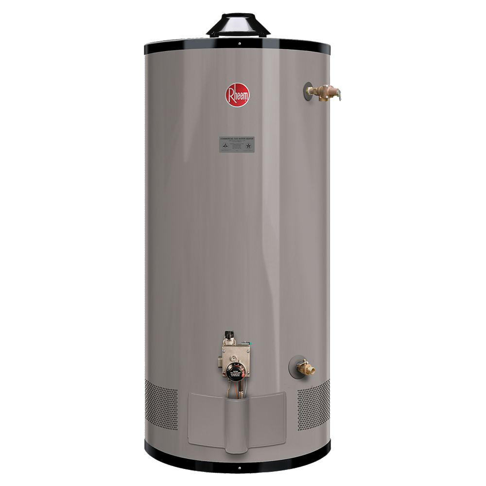 Rheem Commercial 100 Gal Gas Water Heater The Home Depot Canada