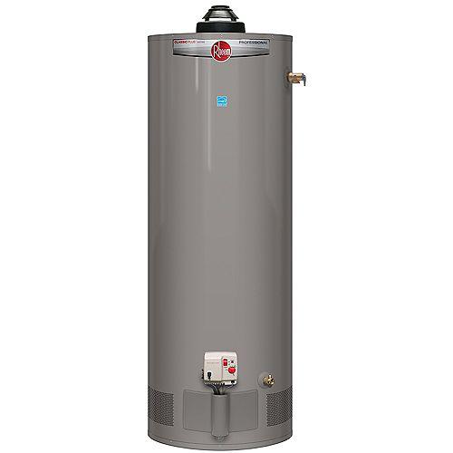Rheem 40 Gallon Propane Power Damper Water Heater
