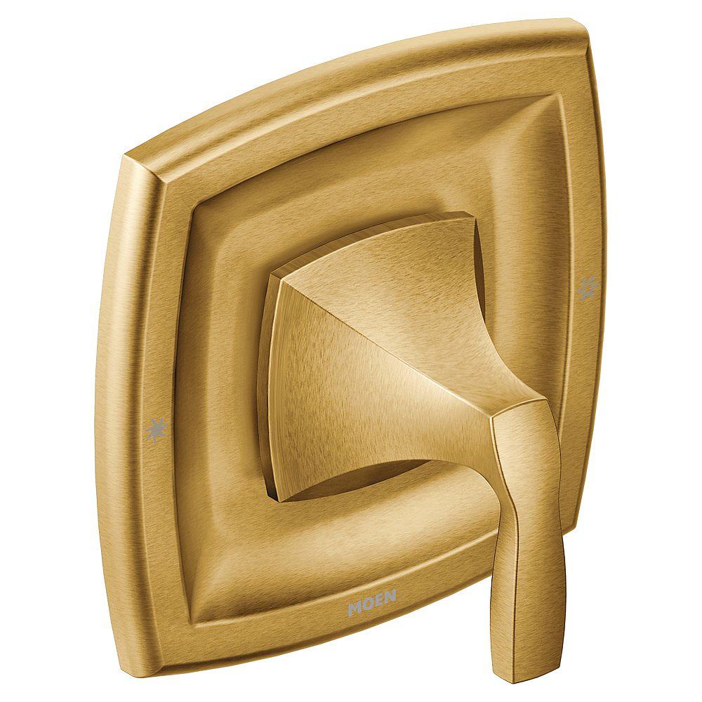 MOEN Voss 1-Handle Moentrol Valve Trim Kit in Brushed Gold (Valve non incluse)
