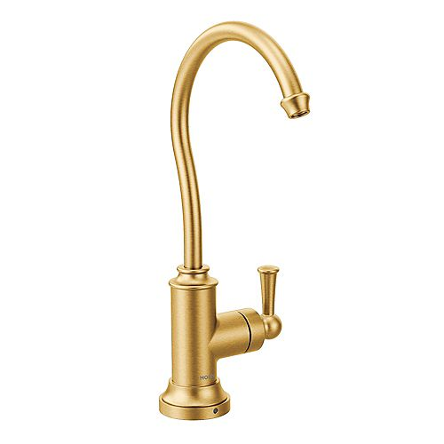 Sip Traditional Drinking Fountain Faucet in Brushed Gold