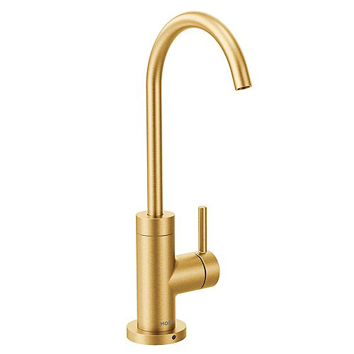 Sip Modern Drinking Fountain Faucet in Brushed Gold