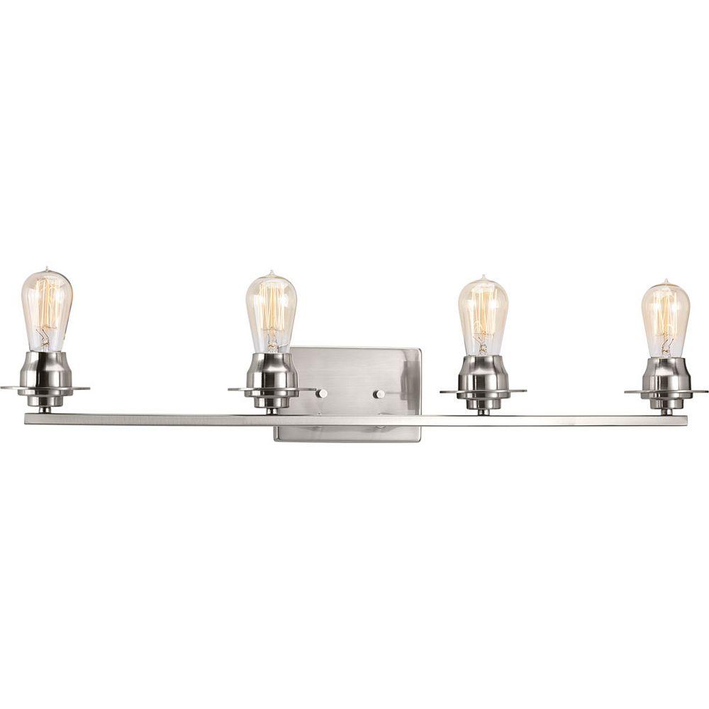 Progress Lighting Luminaire à quatre lumières Debut pour salle de bain