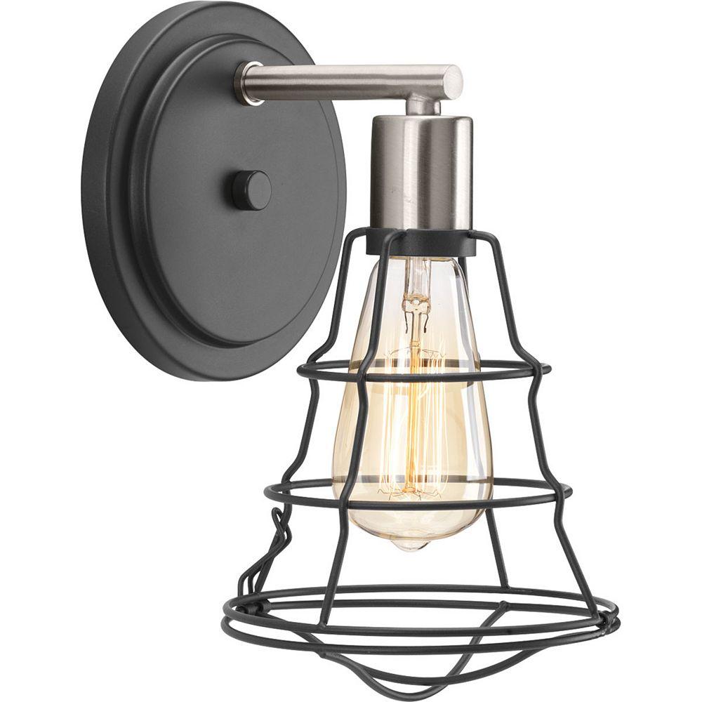 Progress Lighting Luminaire à une lumière Gauge pour salle de bain