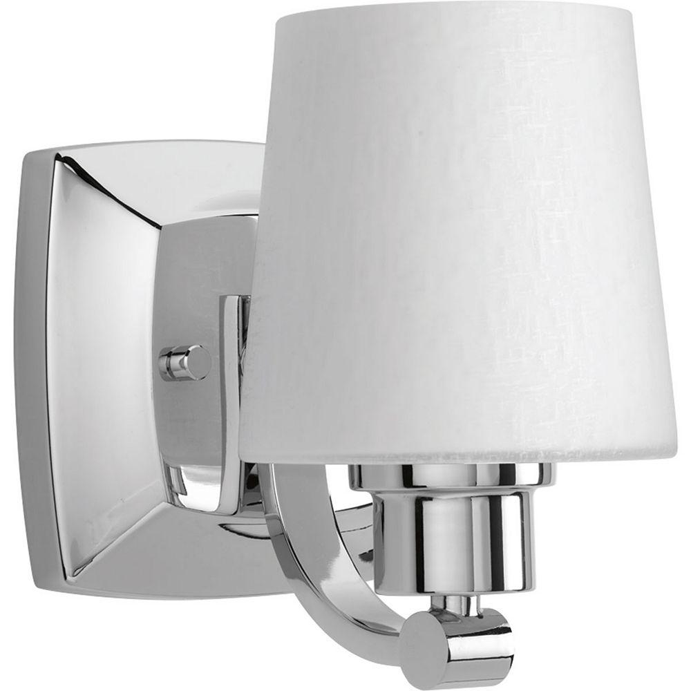 Progress Lighting Luminaire à une lumière Glance pour salle de bain
