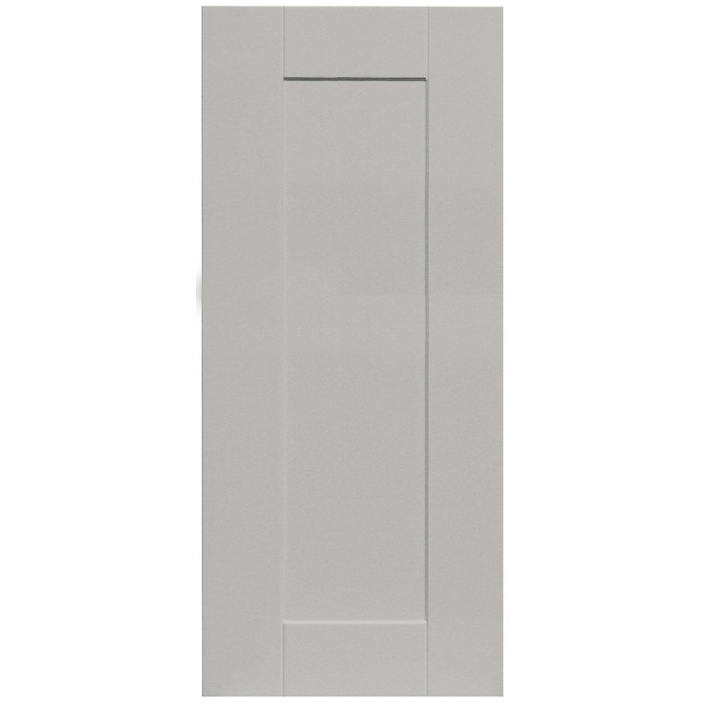 Eurostyle Cambridge - Door 15 inch x 34 inch - Painted Canadian Grey