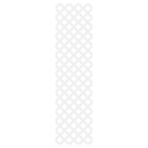Classic 2X8 White Lattice