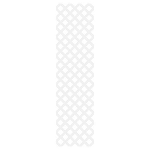 Barrette Classic 2X8 White Lattice