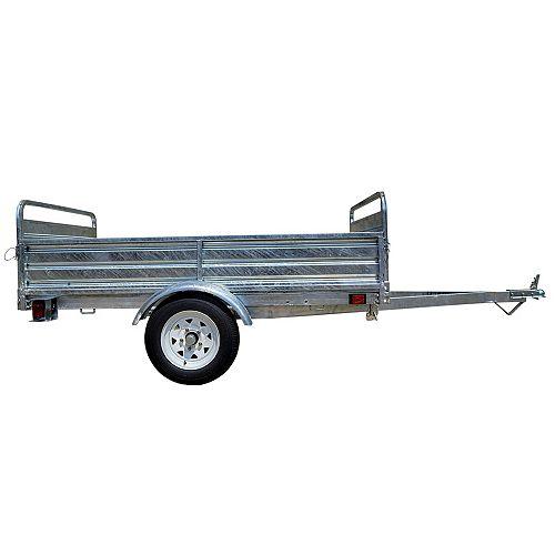 5ft x 7ft Multi Purpose Utility Trailer Kits - Galvanized