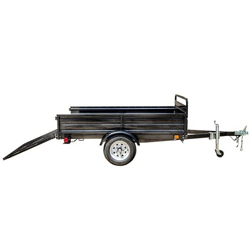 5ft x 7ft Multi Purpose Utility Trailer Kits - WITH DRIVE UP GATE