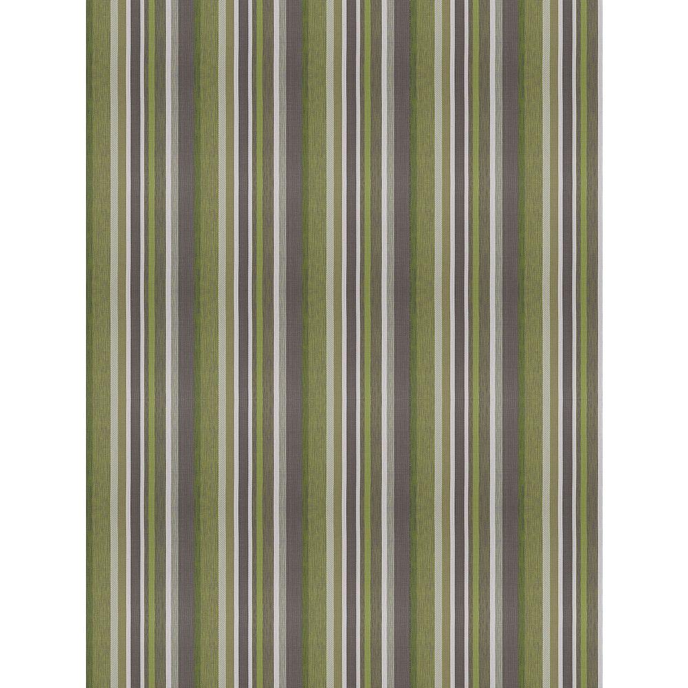 Hampton Bay Monaco Aurora Green 6 ft. 6-inch x 8 ft. 8-inch Indoor/Outdoor Mat