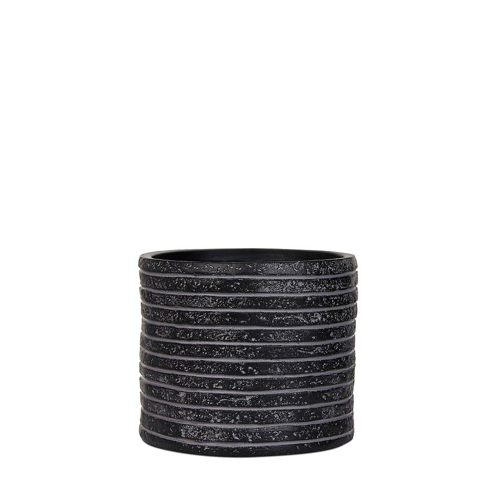Home Decorators Collection Vase à cylindre en rangée Black Nature