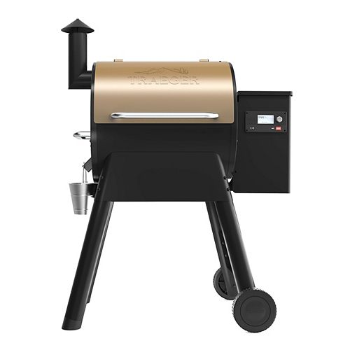 Pro 575 Smart Phone Controlled Wood Pellet BBQ in Bronze