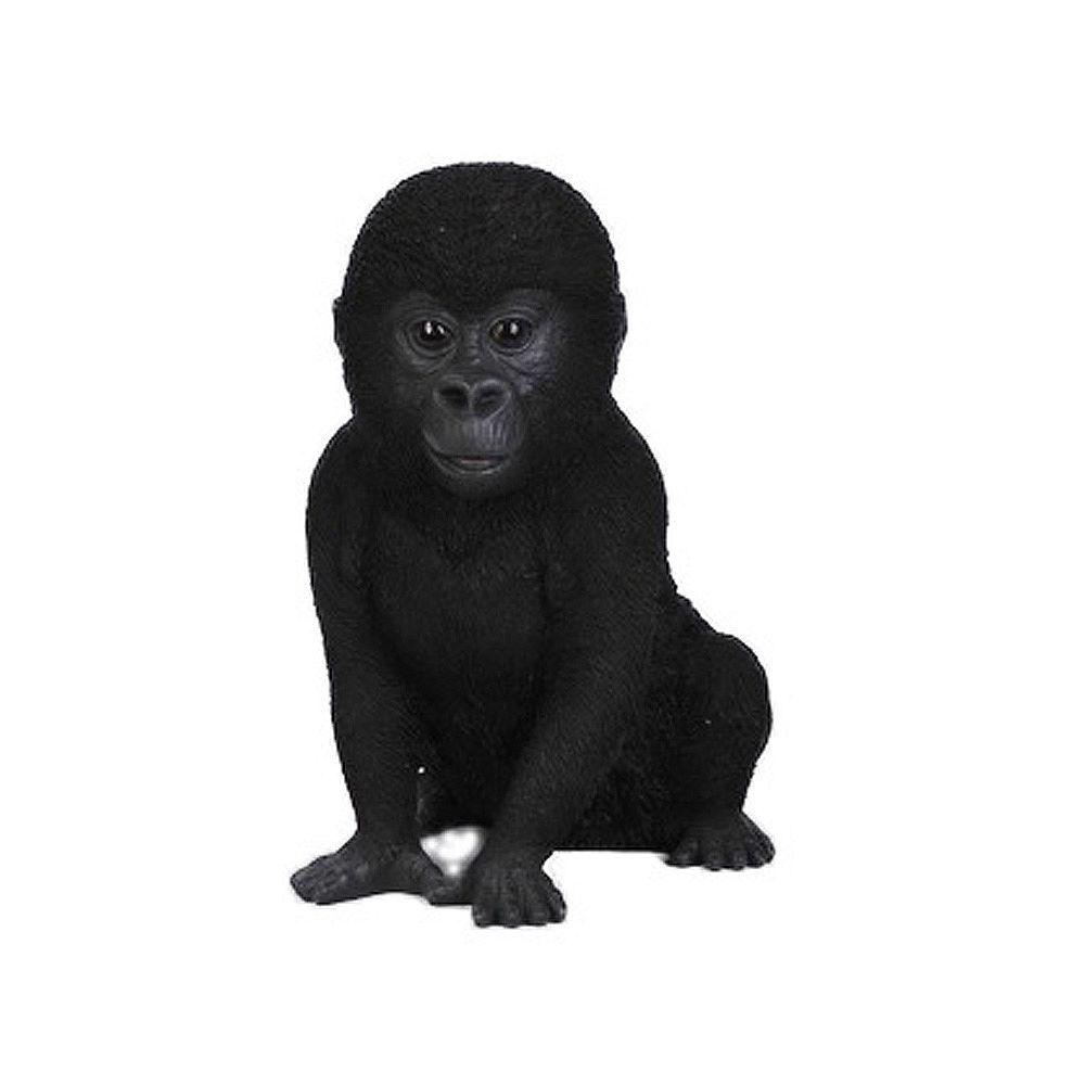 Hi-Line Gift Statue Bébé gorille assis Hauteur 9 inch