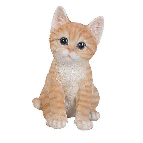 Kitten Sitting Statue