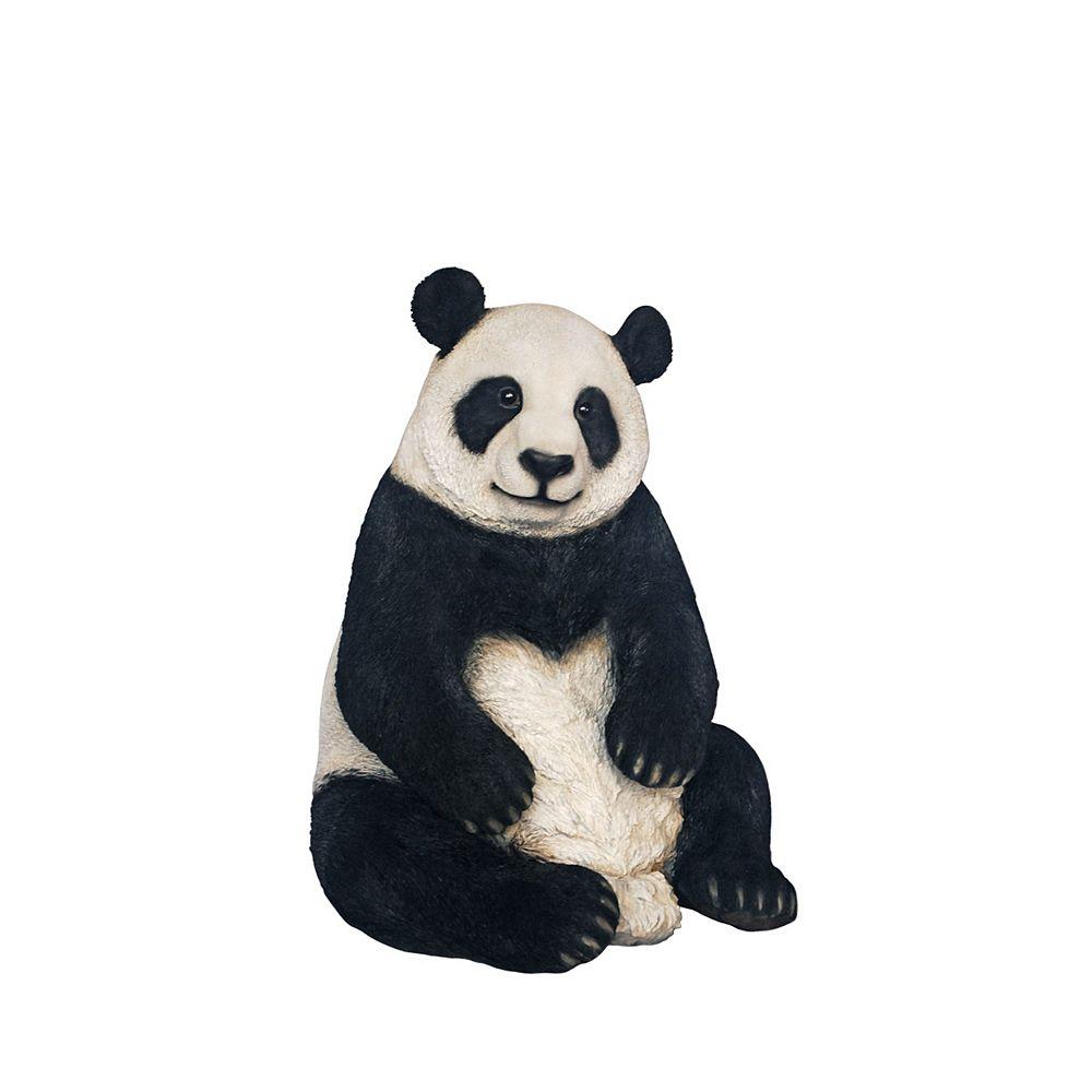 Hi-Line Gift Panda Sitting Statue