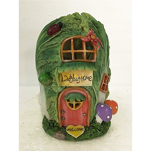 Fairy Garden Cabbage House, Battery Operated